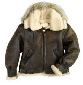 The B-3 Hooded Sheepskin Flight Jacket