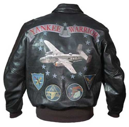 Yankee Warrior A-2 Flight Jacket (Item number: Z21D003) by Cockpit ...