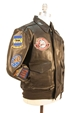 Tuskegee Airmen A-2 Jacket with Patches - Z21J003-36
