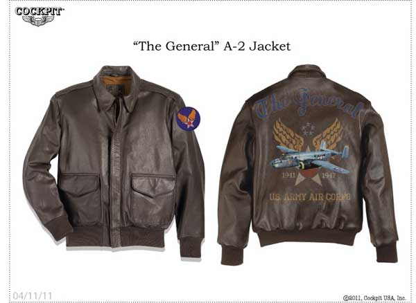 """The General"" A-2 Jacket"