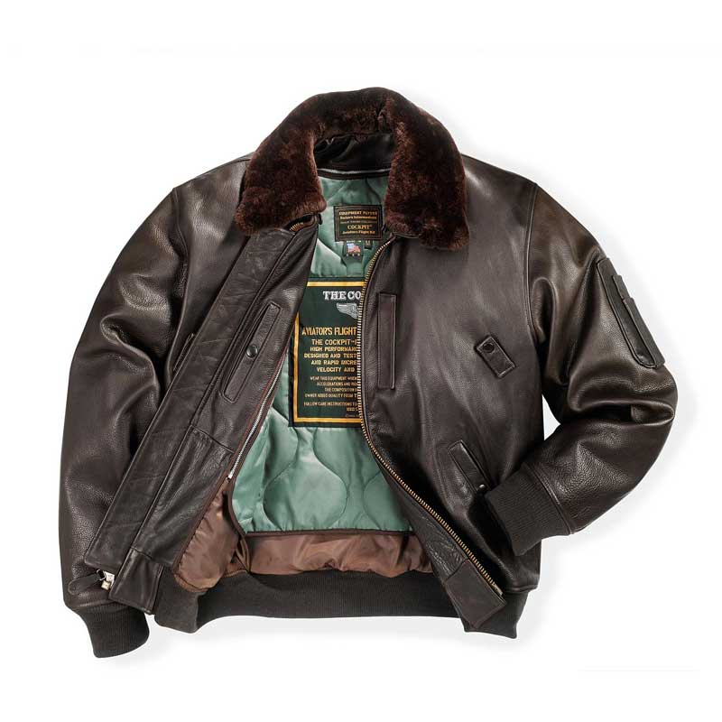 Cowhide Leather B-15 Jacket