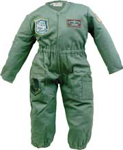 Youth Flight Suit, Olive Green