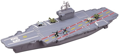 "18"" Aircraft Carrier Play Set - Now with Electronic Sounds!"