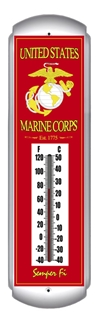 US Marine Corps Thermometer (17 inch x 5 inch)