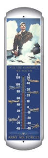 Army Air Forces Thermometer (17 inch x 5 inch)