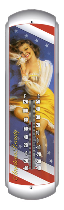 American Beauty Thermometer (17 inch x 5 inch)