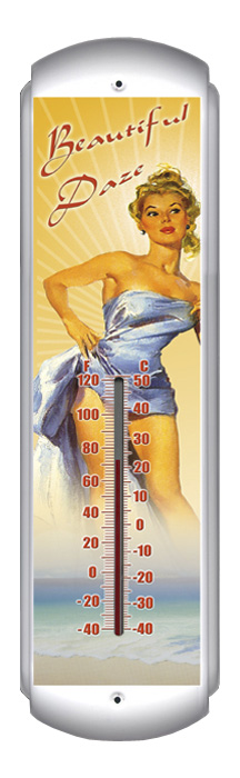 Beautiful Daze Thermometer (17 inch x 5 inch)