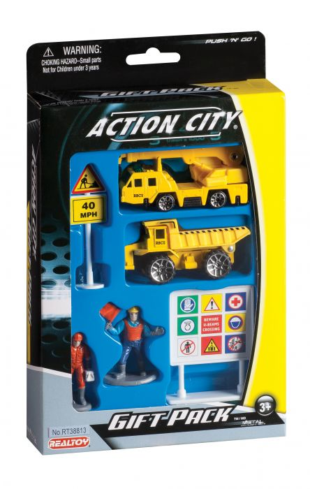 Construction Vehicle 6 Piece Gift Pack