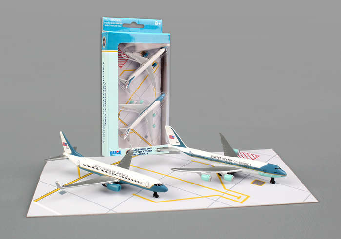 "Air Force One Play Set - 2 planes (3"" models)"