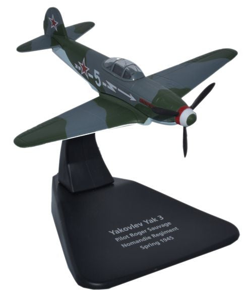 Yakovlev Yak-3, 3rd Fighter Group (Normandie-Niemen Regiment), Free French Air Force, 1945 (1:72)