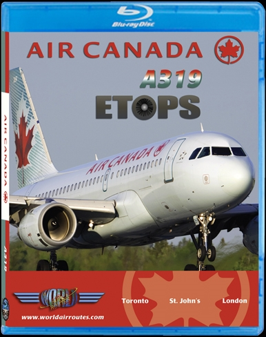 Air Canada A319 ETOPS (BluRay DVD)