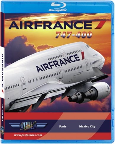 Air France 747-400 (BluRay DVD)