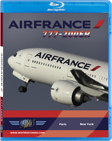 Air France 777-200ER (BluRay DVD)