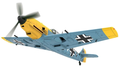 "Messerschmitt Bf-109E-4 , Fahnrich Hans-Joachim Marseille, ""White 14"" 1940 (1:72) - Preorder item, order now for future delivery"