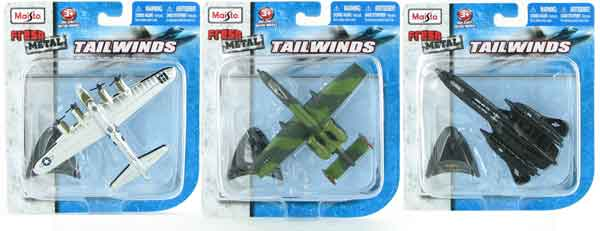 Military Aircraft 3-Piece SET (1:120)