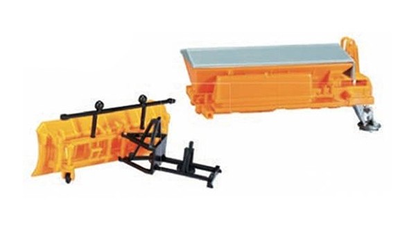Snow Plow And Sander Box (1:87)