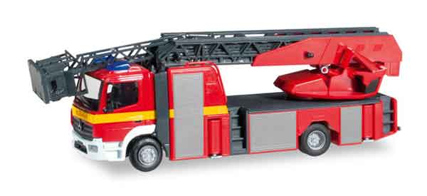 Mercedes-Benz Atego Metz Fire Truck with a Turntable Ladder (1:87)