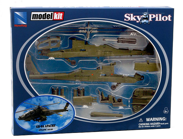 Apache AH-64 - Diecast Model Kit (1:55)