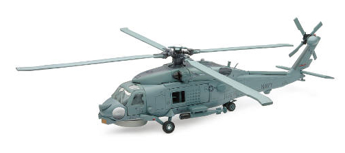 Sea Hawk Helicopter - Easy Build Model Kit (1:60)