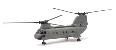 U.S. Marines Boeing CH-46 Sea Knight Helicopter (1:55)