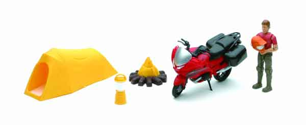 Xtreme Adventure Playset - Man and Motorcycle