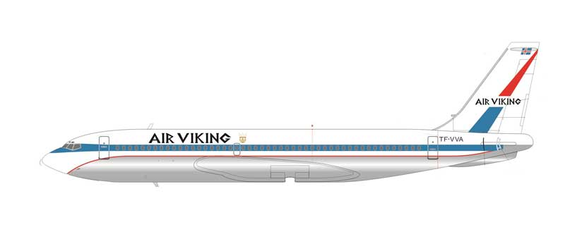 Air Viking B720 TF-VVA (1:200)