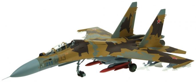 SU-30 MK Flanker-C, Russian Air Force, 1994 (1:72)
