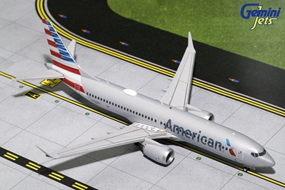 American Airlines B737 MAX 8 N324RA (1:200) - Preorder item, order now for future delivery
