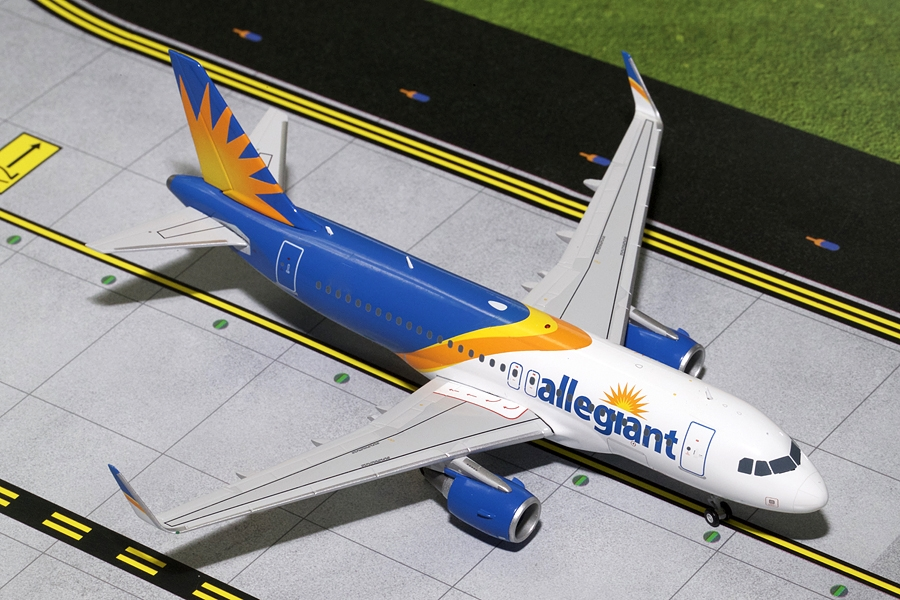 Allegiant A319 Sharklets, New Livery (1:200)