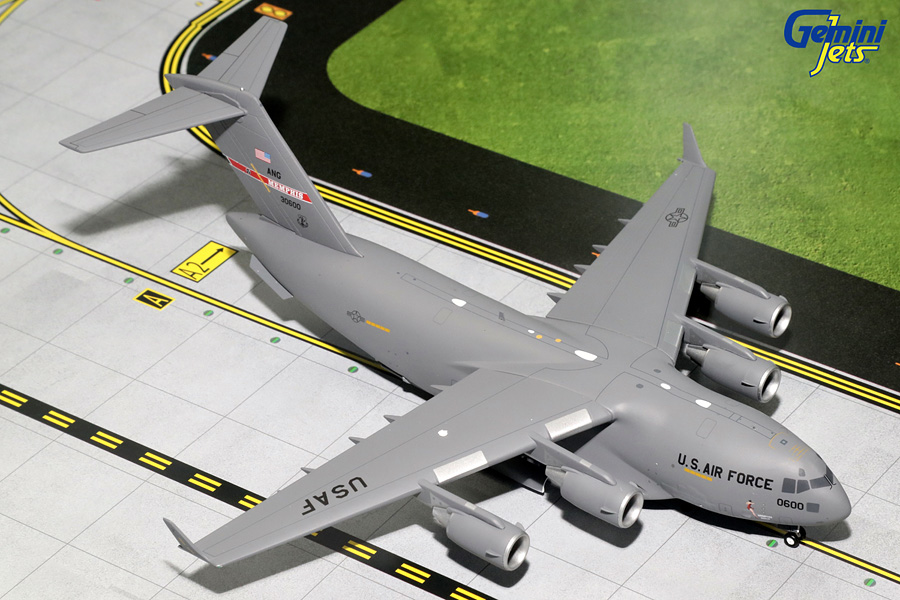 USAF Boeing C-17, Memphis Air National Guard 30600 (1:200)