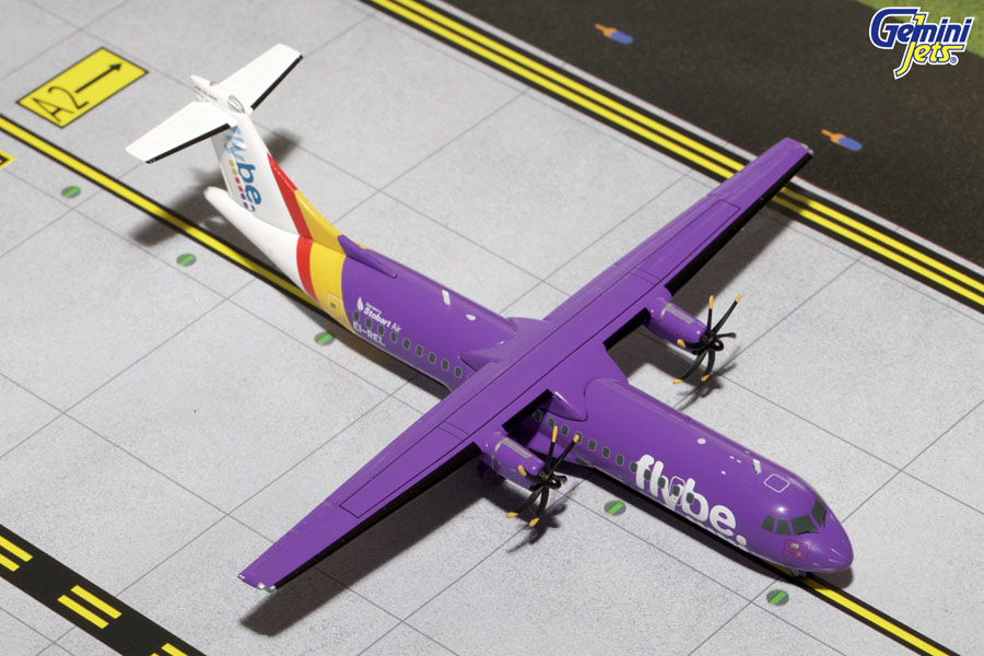 Flybe ATR-72-500 (Purple Livery)EI-REL (1:200)