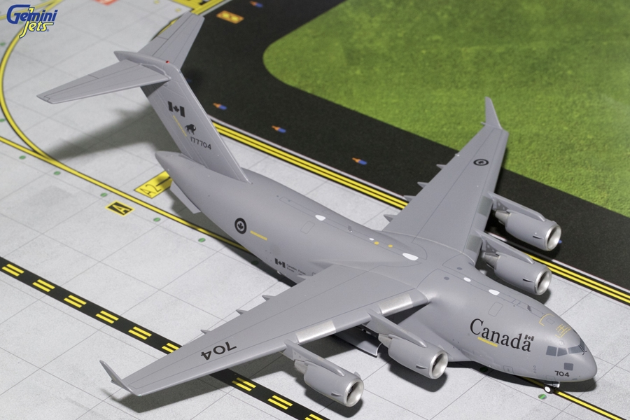 Royal Canadian Air Force C-17 Buffalo Logo 77004