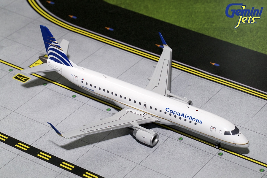 Copa Airlines ERJ-190 HP-1540CMP (1:200) - Preorder item, order now for future delivery