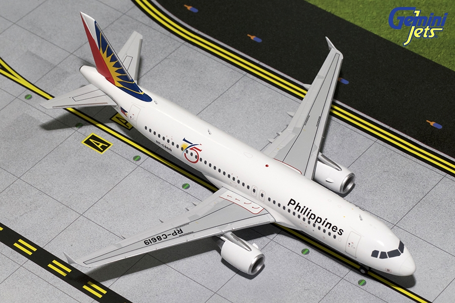 Philippines A320-200 75th Anniversary RP-C8619 (1:200)