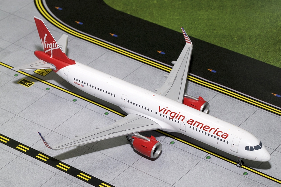 Virgin America A321neo N921VA (1:200) - Preorder item, Order now for future delivery