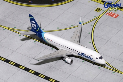 Alaska Airlines ERJ-175 N182SY (1:400) - Preorder item, order now for future delivery