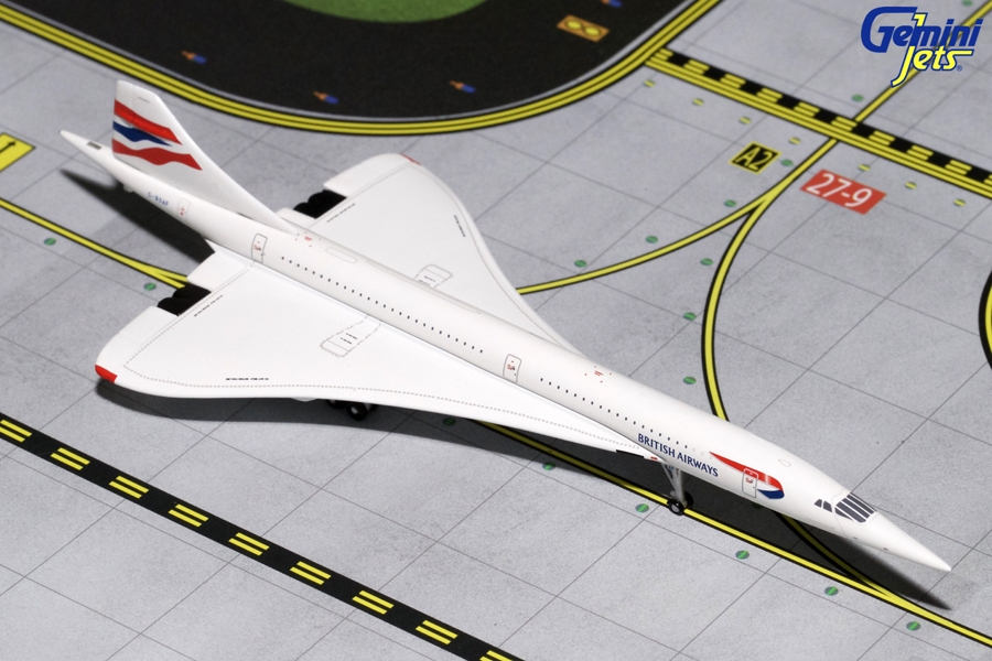 "British Airways Concorde ""Filton"" G-BOAF (1:400)"