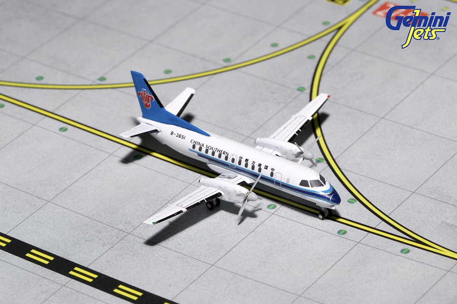 China Southern SF-340 B-3651 (1:400) - Preorder item, order now for future delivery