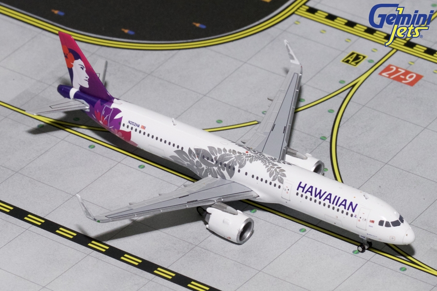 Hawaiian Airlines A321neo 2017 Livery N202HA (1:400)