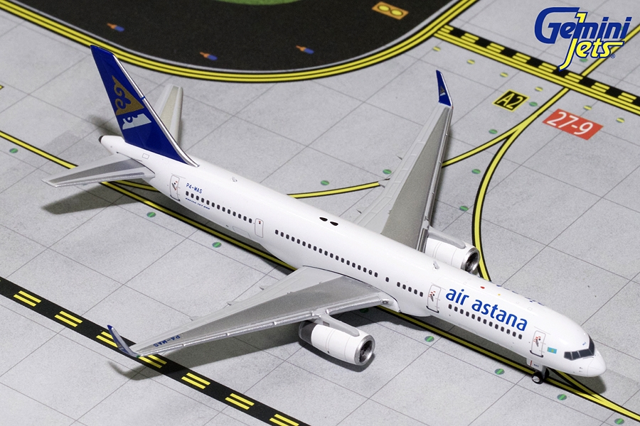 Air Astana B757-200 Winglets P4-MAS (1:400)