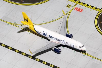 Monarch A320 with Sharklets G-ZBAA (1:400)