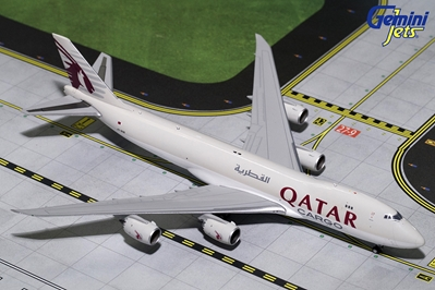 Qatar Cargo B747-8F A7-BGB (1:400) - Preorder item, order now for future delivery