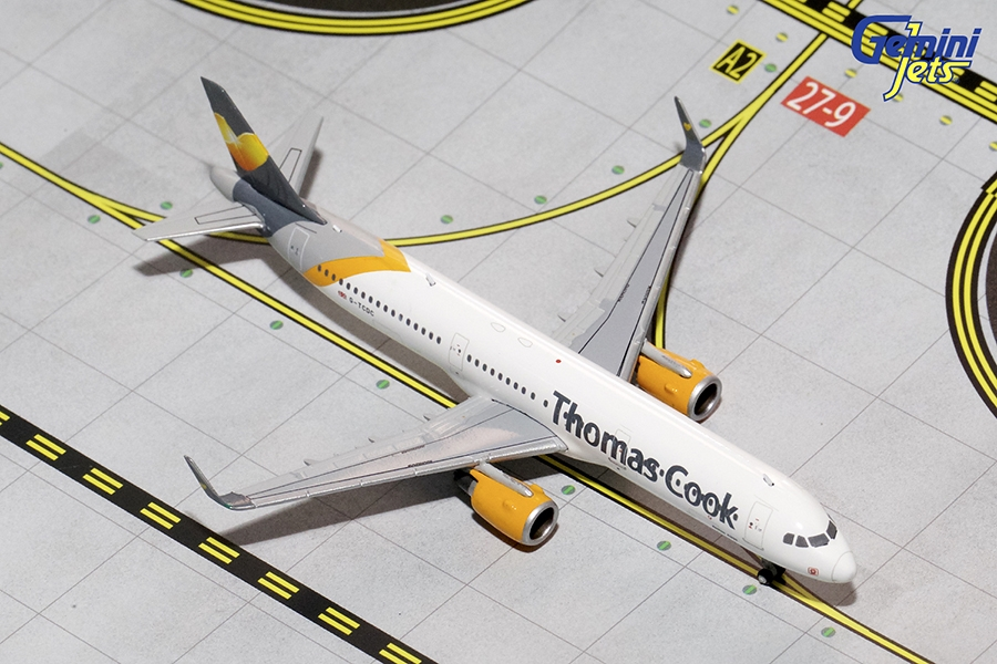Thomas Cook A321-200 Sharklets, New Livery G-TCDC (1:400)