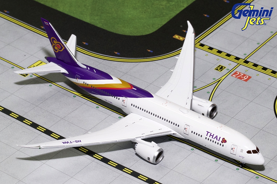 Thai Airlines B787-9 HS-TWA (1:400) - Preorder item, order now for future delivery