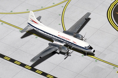 "Allegheny Convair CV-580 ""Polished"" N5816 (1:400)"