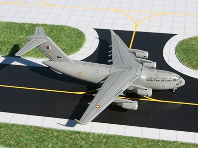 Qatar Air Force C-17 (1:400)