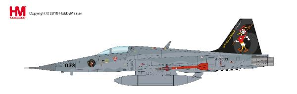 F-5E Tiger II (1:72), J-3033, Staffel 6, 2017 (1:72)  - Preorder item, order now for future delivery