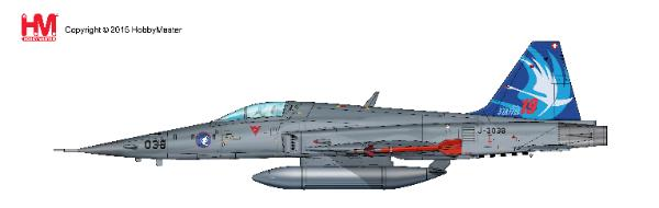 "F-5E Tiger II, J-3038 , Staffel 19 ""75 Jahre"", 2017 (1:72)  - Preorder item, order now for future delivery"