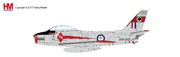 "CAC Sabre Mk.31, 76 Sqn. ""Red Diamonds Aerobatic Team"", RAAF, 1962 (1:72) - Preorder item, order now for future delivery"