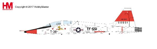 T-38A Talon, Edward Air Force Base, California, 1961 (1:72)